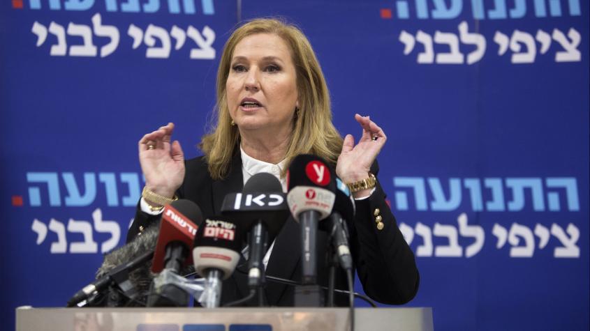 Tzipi Livni wirft das Handtuch